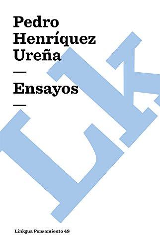 Ensayos (Pensamiento) por Pedro Henriquez Ureña