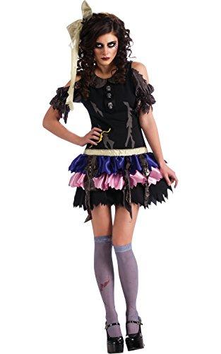 Puppe Kostüm Vampir - Rubie's Offizielles Damen-Halloween-KostümZombie-Puppe, Standardgröße