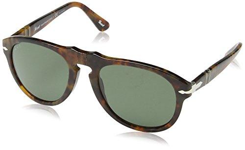 persol-unisex-sonnenbrille-po0649-gr-small-herstellergre-52-mehrfarbig-caff-crystal-polar-green-inte