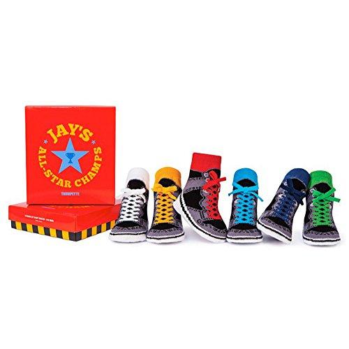 ALL-Star Jays Babysocken Trumpette in 6er Geschenkebox