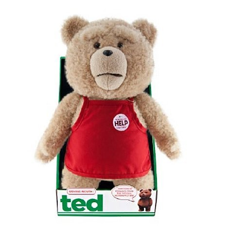 Ted 96411 16-Inch R Rated Plush Asst in Outfits with Sound and Moving Mouth