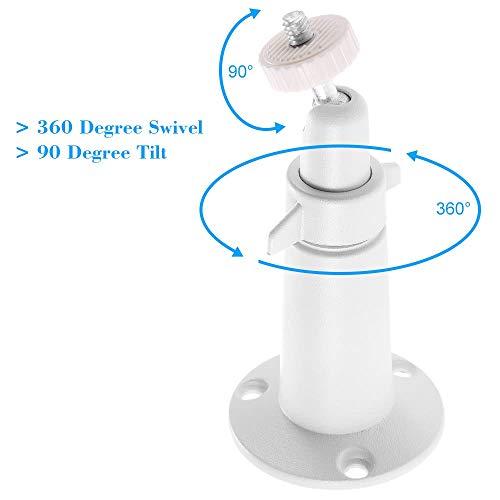 Indoor Dekorative Gehäuse (Stabile Kamerabasishalterung Metall Indoor Outdoor verstellbare Halterung Wand Tisch Decke Sicherheit Halterung für Arlo/Arlo Pro Kamera (Size : 2))