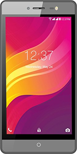 Intex Aqua Power M Android Mobile Phone with 1.3 GHz Processor, 5MP Camera and 5-inches Screen (Grey)