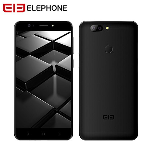 elefon P83D Smartphone, 14cm FHD Naked Eye 3D Display, 4GB RAM + 64GB ROM, mt6750t Octa Core, Dual Kamera 13MP + 2MP, 4050mAh, 4g DUAL SIM ANDROID 7.0Smartphone, schwarz (Glass System Storage)