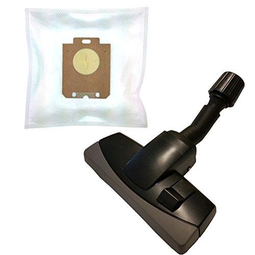 20 Vlies Staubsaugerbeutel + umschaltbare Universaldüse mit Möbelschutz für AEG-Electrolux ZO 6352