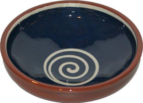 Amazing Cookware Bol Spirale 20 cm, Bleu/crème