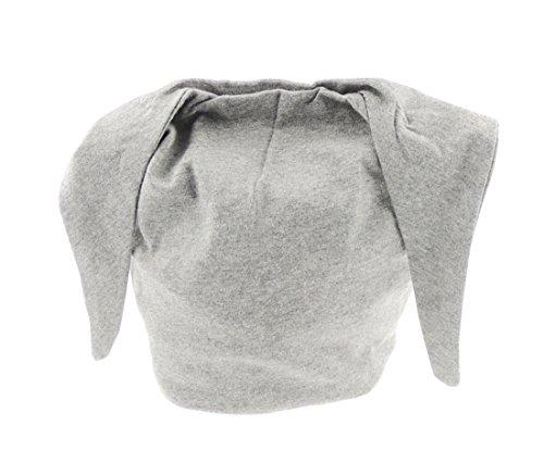 Baby Mädchen Jungen weiche Baumwolle Beanie Hat Geschenk Idee für Neugeborene zu 2Jahre Gr. One Size, reines Grau (Hüte Beanie Designer)