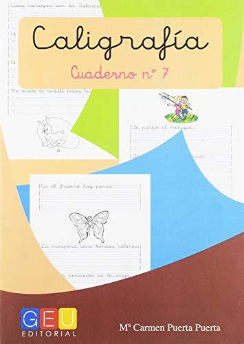 Caligrafía con Pauta Montessori - Cuaderno 7