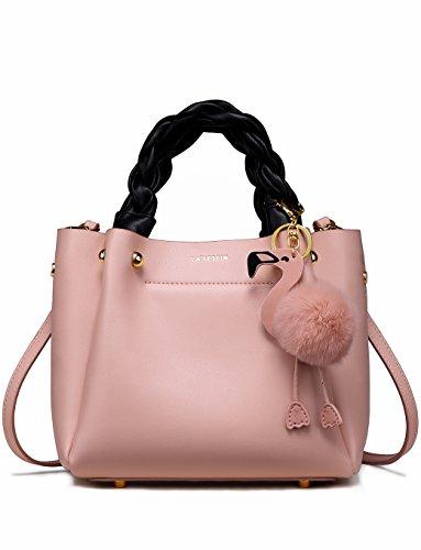 LA\'FESTIN Designer Fashion Schultertasche Tasche Handtaschen aus echtem Leder, Luxus-Trendy Accessorize Hobo Große Klassische Geldbörsen für Damen, Frauen, Reisen und mehr