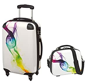 kombi set koffer reisekoffer bordtrolley beauty case. Black Bedroom Furniture Sets. Home Design Ideas
