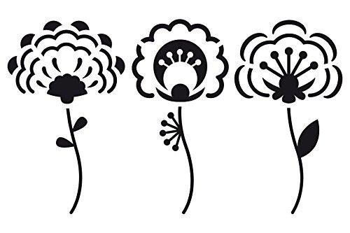 artemio-10-x-15-cm-3-piezas-plantilla-para-estarcir-diseno-de-flores