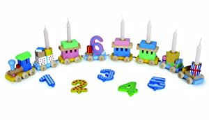 Goki GK106 trene de juguete - Trenes de juguete (Multicolor, Madera, 56 cm, 490 g, Caja)