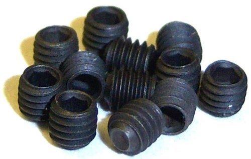 85832 8 x Sechskant Madenschraube M3 x 3mm breit 1/8