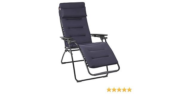 Sedia A Sdraio Classica Lafuma : Lafuma futura air comfort sedia blu scuro standard amazon
