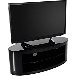 AVF Buckingham FS1100BUCSB Black TV Stand for up to 55 inch