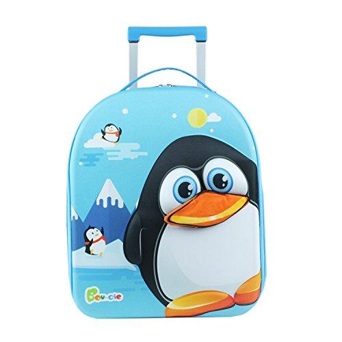 Knorrtoys 14517 3D-Trolley Pinguin Kindergepäck, 20.0 L, Mehrfarbig