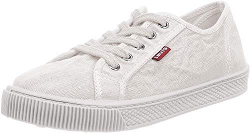 Levi's Malibu W, Sneaker Donna, Bianco (Brillant White), 37 EU