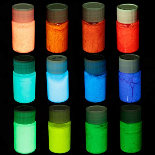 Glow in Dark Paint Schwarzlicht Night Fluorescent UV UV-Lack Super Bright Art ()