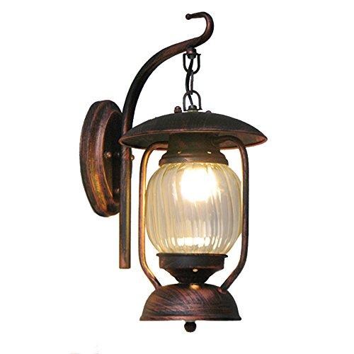 GKJ Rétro lampe murale, Creative Bar Coffee Shop Lampes et lanternes Lampe à pétrole Lampe à aiguille à la lampe de fer à l'allée Lampe à souder Simple E27, 39 * 27CM (taille : 39 * 27cm)