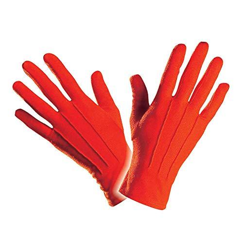guanti rossi Widmann Guanti Adulto unisex