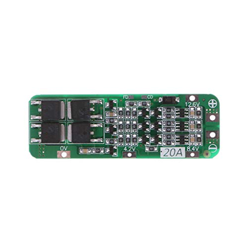 Yintiod 3S 20A Lithium-Ionen-Akku 18650 Ladegerät PCB BMS Protection Board 12.6VModule 3,6 V Dc-lithium-ionen