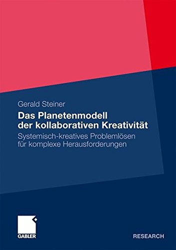 Das Planetenmodell der kollaborativen Kreativität: Systemisch-kreatives Problemlösen für komplexe Herausforderungen (German Edition)