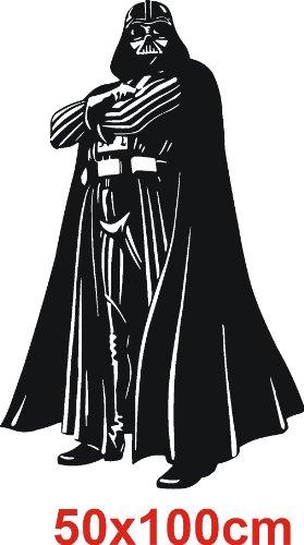Darth Vader Star Wars Arte de la pared adhesivo Vinilo. 50x 100.