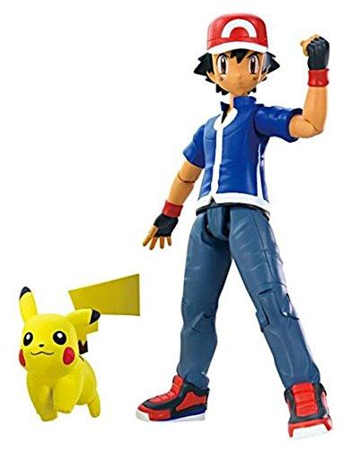 Pokémon - XY figuras Ash y Pikachu (Bizak 30698079)