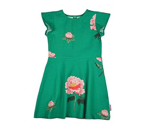 Baba Babywear Butterfly Dress Kids Organic Cotton, Farbe:Grün, Größen:98