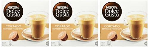 NESCAFÉ Dolce Gusto Cortado Espresso Macchiato, Kaffeekapseln, Robusta und Arabica Bohnen,...