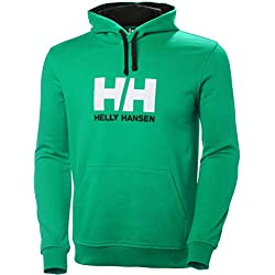 Helly Hansen HH Logo Hoodie Sudadera Con Bolsa Canguro De Hombre XL