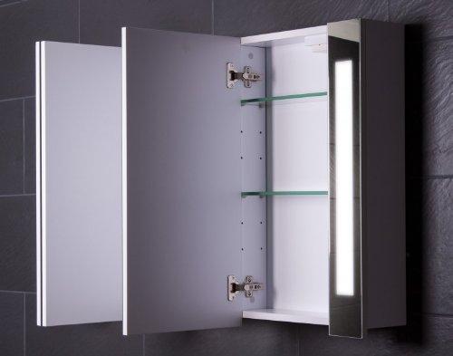 Großer Spiegelschrank Curve, 120 cm - 3