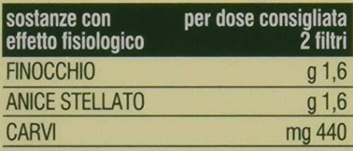 L'Angelica Tisana Funzionale Ventre Piatto Finocchio-Anice-Menta Pacco da 10 (20 filtri x 40 g)