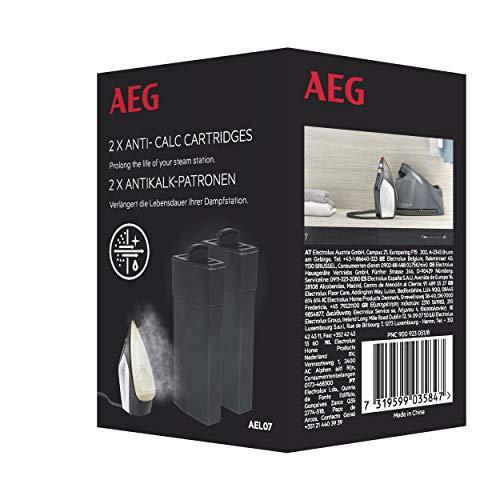AEG AEL07 Filtro Anti-calc, compatible con los centros de planchado Absolute 8000 y Delicate 7000, 2...