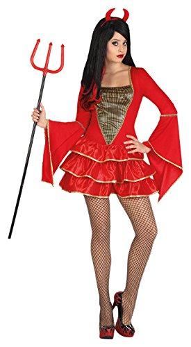 Atosa 26180–Costume Diavolessa, Donna