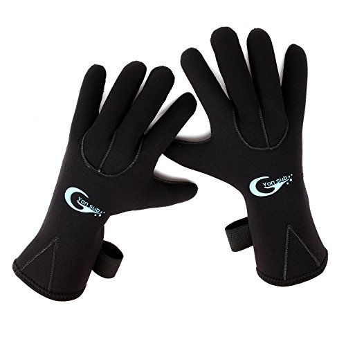 3MM Neoprenhandschuhen Neopren Handschuhe Neoprenschuhen S M L XL (S)