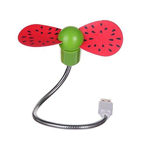 PINEsong Flexibel Mini USB VentilatorITragbarer Handlüfter I Ventilator mit flexiblem Hals I tolle Kühlleistung I Ventilator für Das Büro I USB-Gadget I Kleiner Ventilator IGeschenke (E)