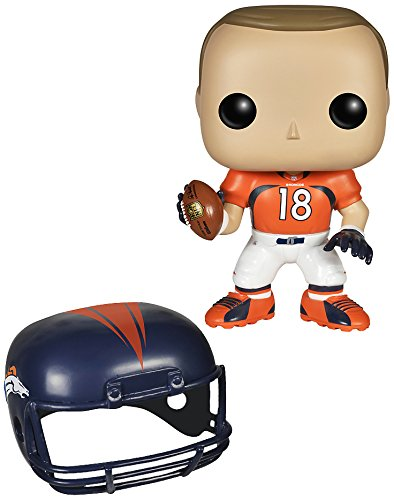 Funko 4534 No POP Vinylfigur: NFL: Peyton Manning (Broncos), Orange, Einheitsgröße