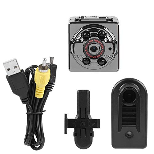 Kafuty SQ8 Mini Sport DV Caméra Portable Full HD Voiture DVR Caméra Dash Cam Enregistreur Vidéo Batterie au Lithium intégrée.(Noir)