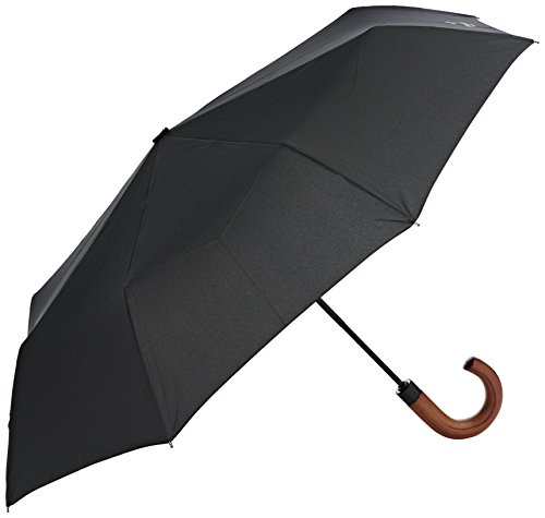 hackett-london-auto-oc-fldg-wood-hdl-umbrella-black-000