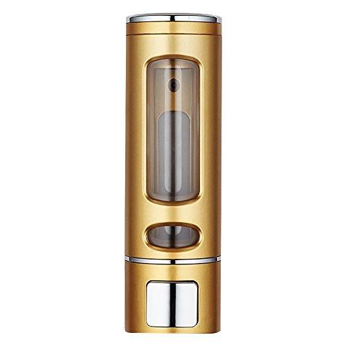 Surenhap 200 ML Dispensador de Jabón Dispensador de Gel Líquido para Ducha de Champú Baño de Inodoro - Oro