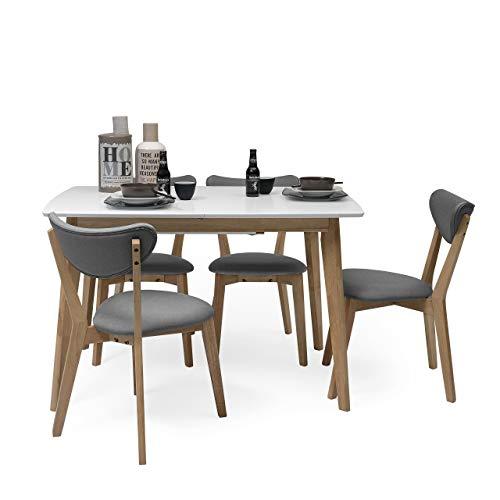 Comparativa de conjunto mesa extensible y sillas comedor ...