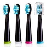 Sboly Sonic Electric Toothbrush Replacement Head x 4 for Model 507,508
