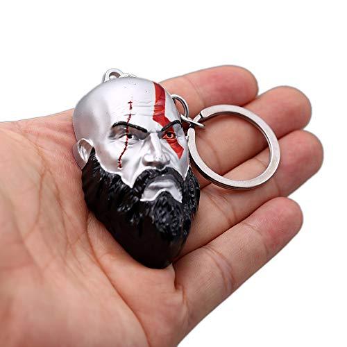ychain 3D Kratos Blades of Chaos Metal Sleutelhanger Key Ring Llaveros Key Chain Chaveiro Schmuck ()