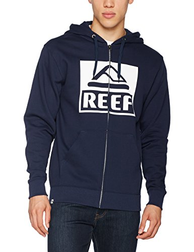 Reef_Apparel Herren Kapuzenpullover Reef Classic Zip Sta Blau (Blue Blu)