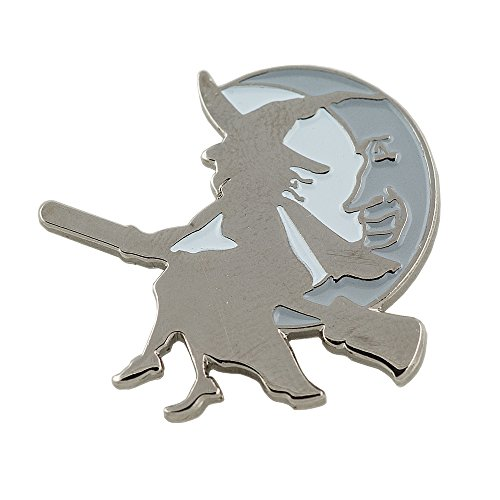 oween Walpurgisnacht Metall Button Pin Pins Anstecker 0497 (Besen Für Halloween)