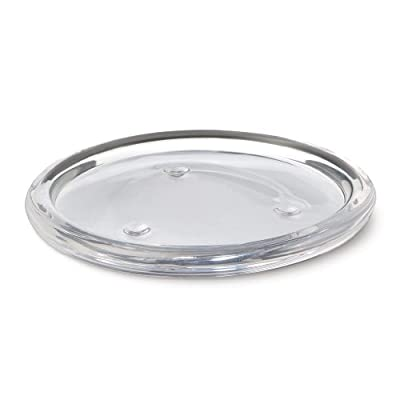 Bolsius Round Glass Candle Plate by Cargo