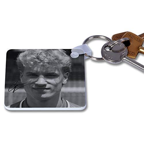 Dennis Bergkamp - Arsenal 1 Novelty Keyring Printed Autographed Key Chain