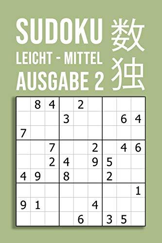 SUDOKU leicht - mittel | Ausgabe 2: 220 Rätsel auf 110 Seiten in Reisegröße  ca  DIN A5 | Für Anfänger und Kenner