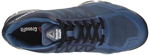 Reebok Crossfit Speed Tr, Sneaker a Collo Basso Uomo Blu (Brave Blue/Skull Grey/Black/White/Pewter)